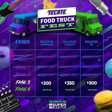 Food Truck Fest Fases